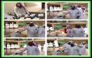 مدرسة الملك عبدالله بخاط تقيم انتخابات طلابية لاختيارمجلس الشورى والحوار الطلابي