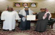 محافظ #بيشة يستقبل ممثلي الخطوط السعودية  بالمحافظة