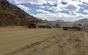 بلدية النماص تقوم بفتح شارع  يمتد من غرب المحافظة إلى شرقها