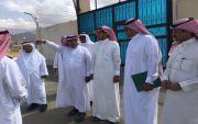 رئيس المجلس البلدي يوجه رسالة بعد زيارتهم لمركز خاط