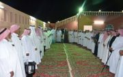الشيخ احمد بن عسير في ضيافة الشيخ عبدالله بن فارس البارقي