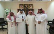 مكتب الأشراف بالمجاردة يكرم الاستاذ عبدالله العمري
