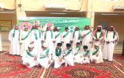ثانوية عمار بن ياسر تحتفل باليوم الوطني 87