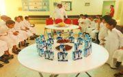 اليوم العالمي للغذاء الصحي في ابتدائية الليث بن سعد