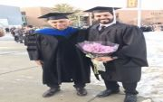 فهد خضير يحصل على درجة الماجستير في علوم الأرض من الولايات المتحدة الأمريكية