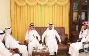 عضو الاتحاد السعودي لكرة القدم يقوم بزيارة تفقدية لنادي الفاروق
