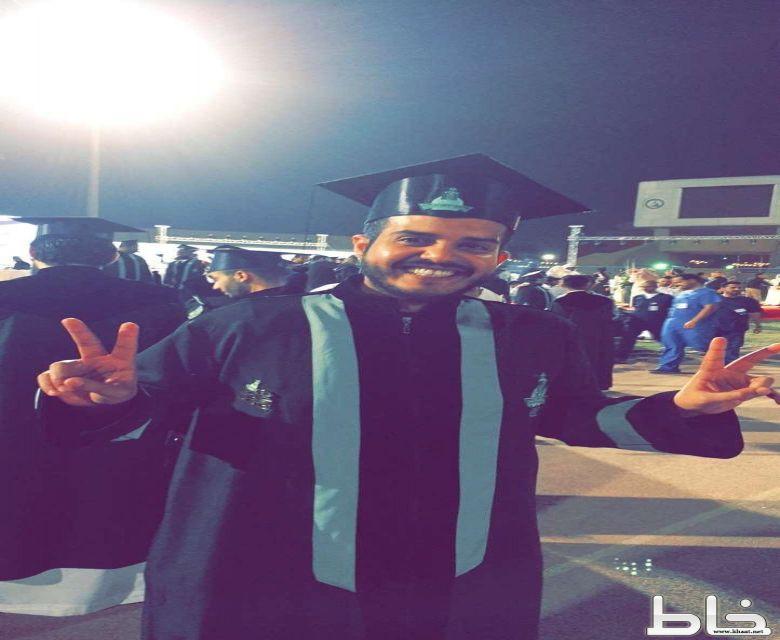 محمد احمد الشهري يحصل على البكالوريوس من جامعة عبدالعزيز