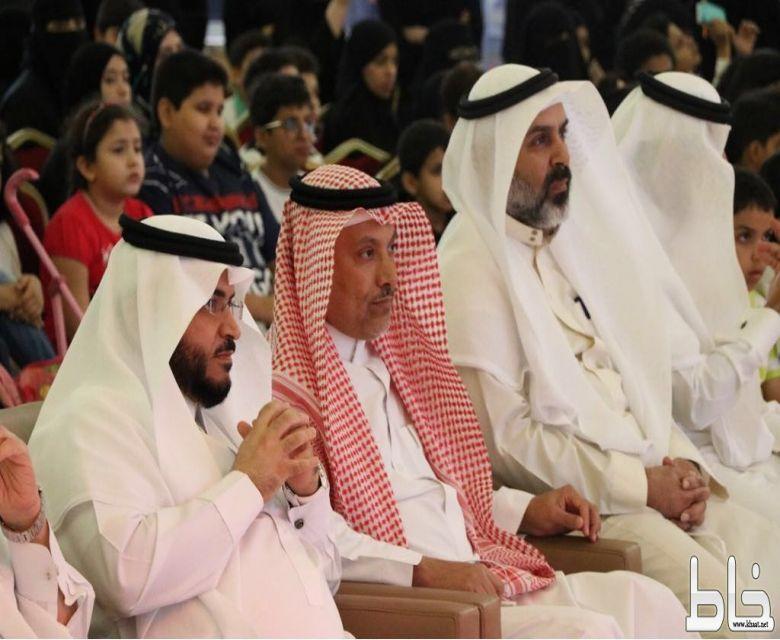"""القحطاني يفتتح حفل""""المهرجان الثقافي للصغار""""..والعروض المسرحية تبهر الحضور"""