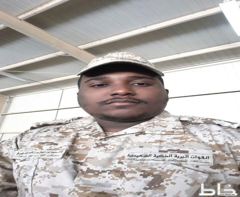 اصابة العريف احمد عايض الشهري على الحد الجنوبي