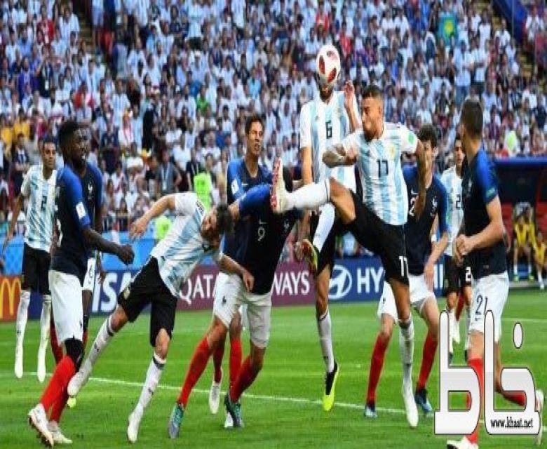 فرنسا تنهي مغامرة الأرجنتين.. وتتأهل لدور الثمانية
