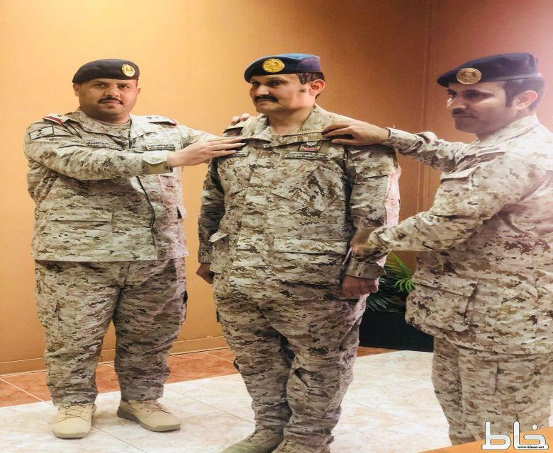 ترقية أحمد معيض الصميدي إلى رتبة رئيس رقباء