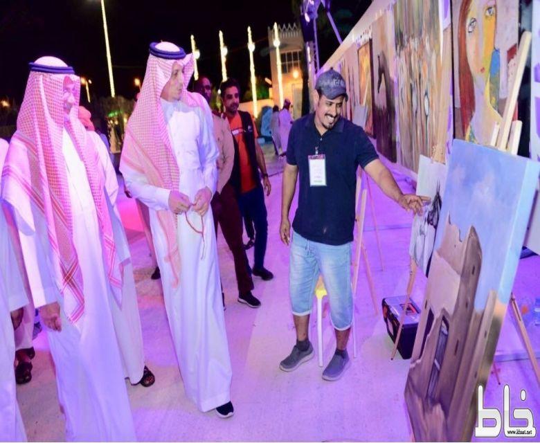 """أول جادة لـ """" الفنون """" ببيشة ضمن فعاليات مهرجان صفري #بيشة"""