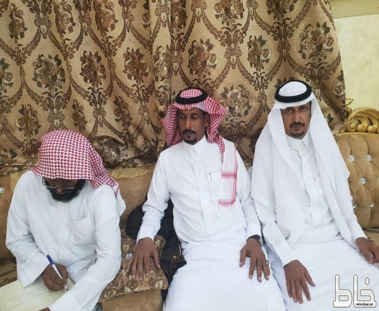 عبد الله الشهري : يعقد قرانه ويتلقى التهاني والتبريكات
