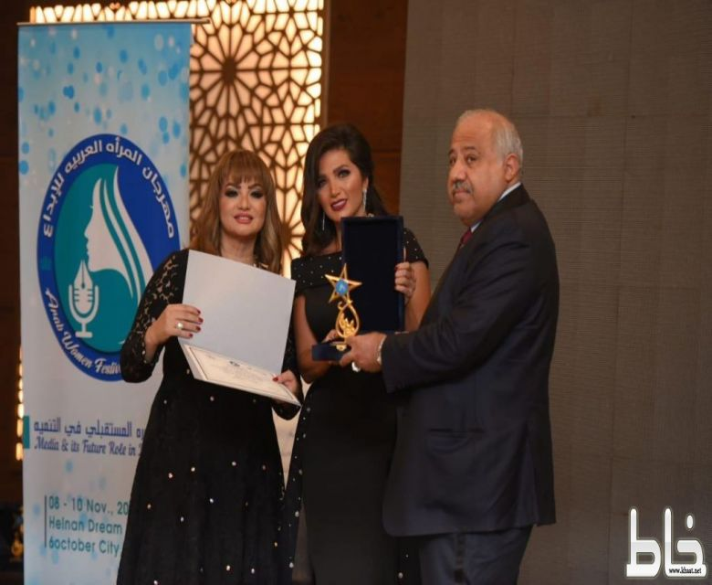 سميرة مدني تفوز بلقب أفضل مذيعة عربية