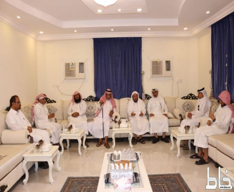 """دعوي المجاردة يزور الشيخ سعد بن زيد ضمن برنامج """" استضافة مسؤول """""""