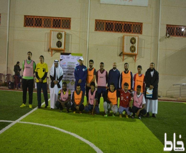 إفتتاح بطولة الأمير محمد بن سلمان (جبل طويق) بنادي مدرسة الحي بمتوسطة النماص