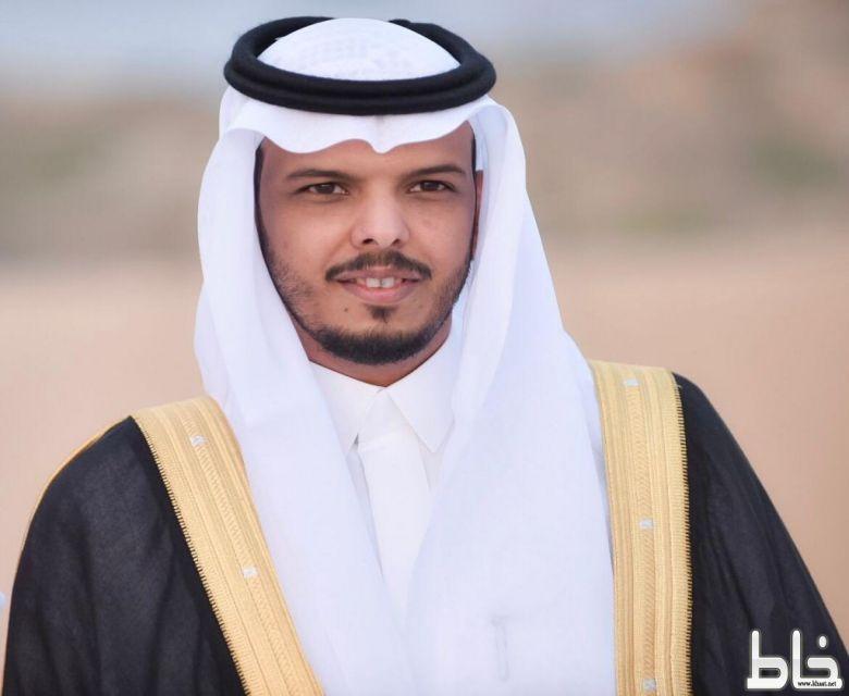 ابراهيم الشهري سكرتير نادي الفاروق يحتفل بزواجه