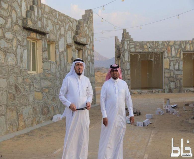 البناوي يتفقد مشاريع القرية التراثية و الممشى و المطل بحضور البارقي