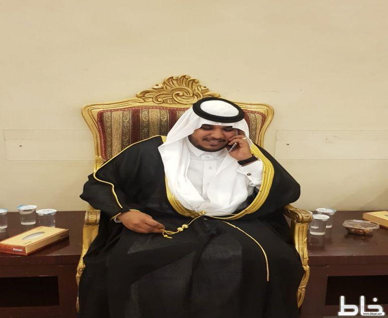 سعيد مغرم العمري يحتفل بزواجه في قاعة السلطان بجدة