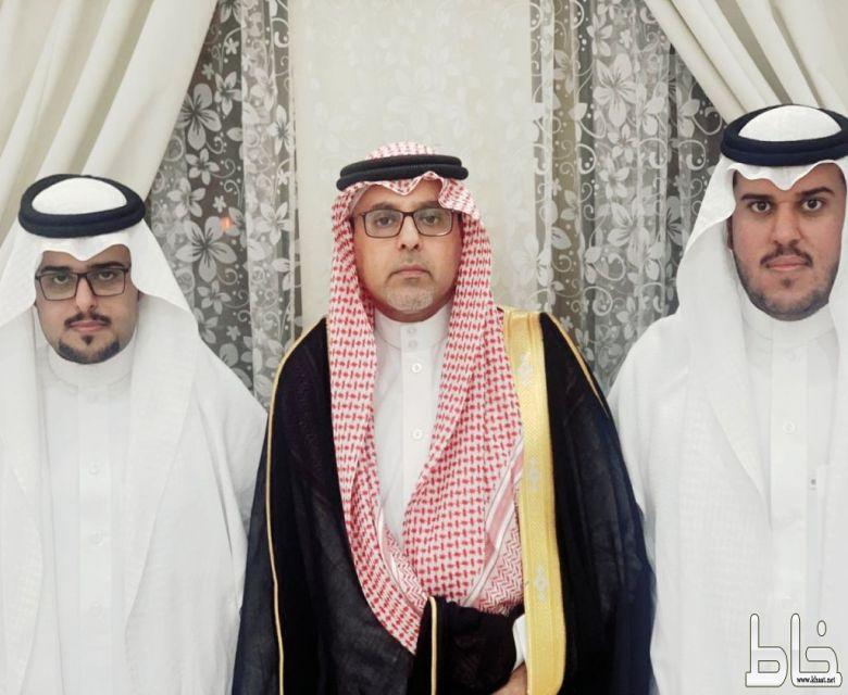 حسن واحمد أبناء المرحوم عامر العمري يحتفلان بعقد قرانهما