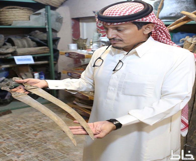 صحيفة خاط تتجول في متحف الأستاذ محمد خضير