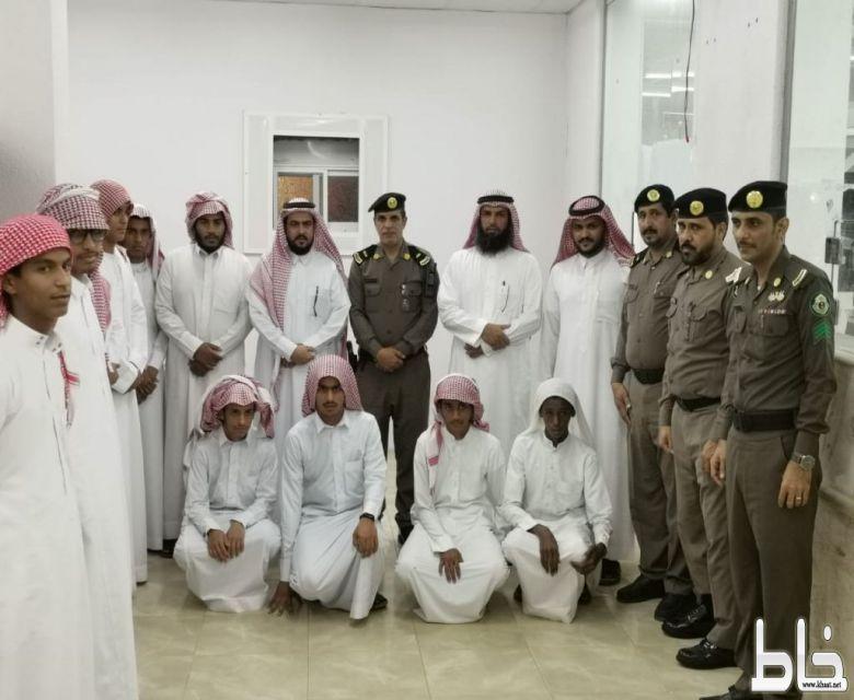 زيارة طلاب المعهد العلمي لشعبة مرور محافظة المجاردة