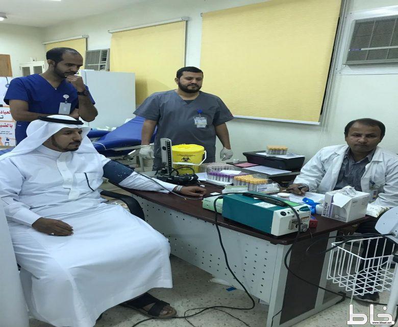 تفعيل برنامج وتين بمختبر مستشفى المجاردة