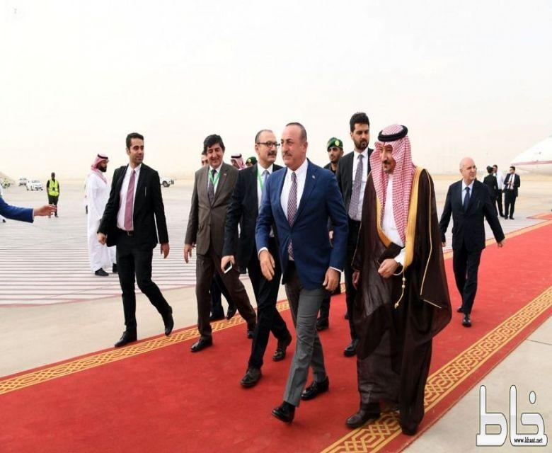 وزير الخارجية التركي يصل جدة