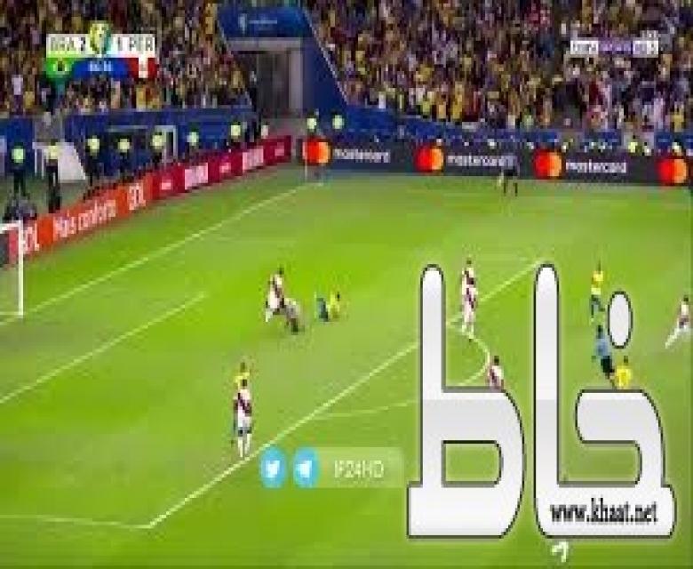 """بالفيديو .. """"البرازيل"""" تسحق """"البيرو"""" بثلاثية وتحقق لقب بطولة """"كوبا أمريكا"""""""