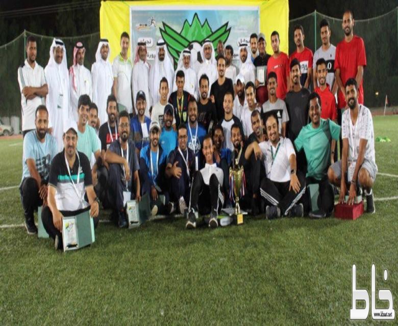 آل شريم يتوج تعليم صبيا بكأس بطولة إدارات التعليم للبطولة المركزية للمرحلة الثانوية