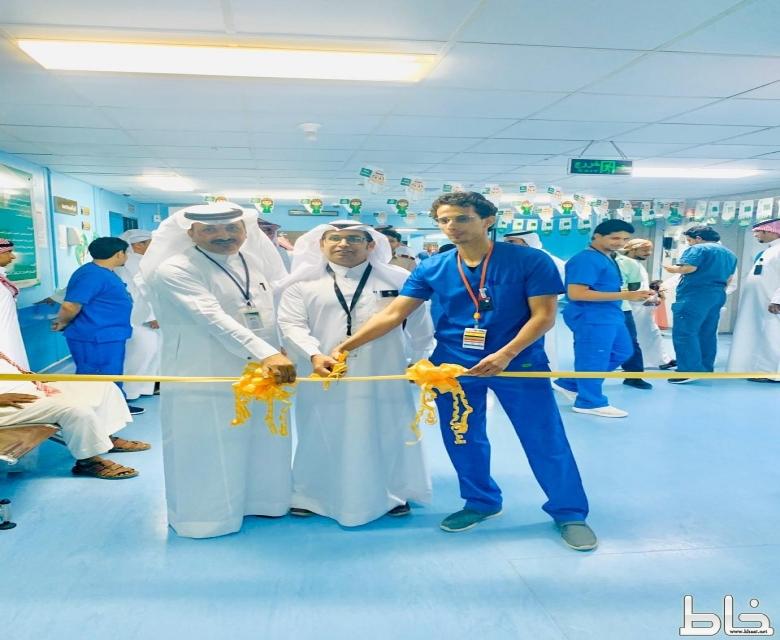 قسم الاشعة بمستشفى المجاردة العام ينفذ فعالية اليوم العالمي للأشعة