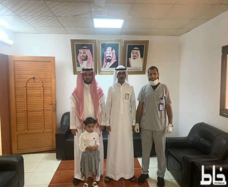 الشهراني : يدشن حملة التطعيم ضد شلل الأطفال بمركز صحي احد ثربان