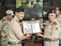 سمو قائد القوات البرية يشرّف حفل توديع اللواء زعل البلوي