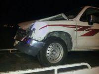 بالصور حادث مروري على طريق جمعة أثرب ببارق