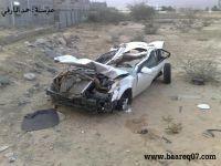 وفاة شاب بحادث مروري ببارق