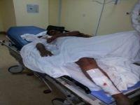 اصابة قائد دراجة نارية على طريق ثلوث المنظر - تنومة