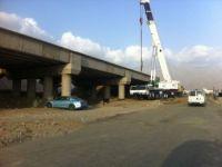 قرب الإنتهاء من مشروع كبري طريق خاط البالغ قيمته 8 مليون ريال