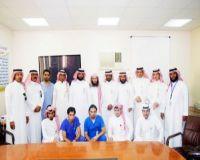 مركز الرعاية الصحية بالصناعية بالخميس يحصل على المركز الأول على مستوى المملكة