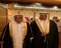 """سعيد العمري يحتفل بزفافه بقاعة الملكة """" جده """""""