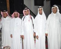 نايف يحتفل بعقد قرانه بمركز خاط