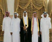 عبدالمجيد بن سرور يحتفل بمناسبة زفافه