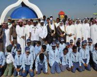 برعاية بن على الله والحياني انطلاق المشروع الوطني الكشفي لنظافة البيئة بمحافظة بارق
