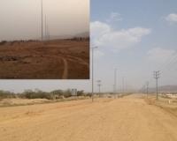 بالصور : بلدية بارق تنير الشوارع وتتجاهل السفلته بمخطط خبت آل حجري