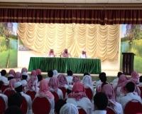 صقر قريش تطلق برنامج اليوم الوطني بمحاضرة للشيخ الغامدي