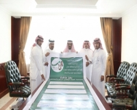 الرعيني يدشّن اكبر وثيقة وطنية مدرسية لمدرسة الملك عبدالله بمركز خـاط