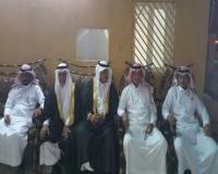 معيض العمري  يحتفل بزواجه في قصر شفاء خاط