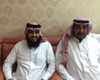 الشيخ احمد بن عايض البارقي يحتفل بعقد قرانه