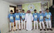 كشافة الملك عبدالله وفريق تطوع يزوران الدفاع المدني
