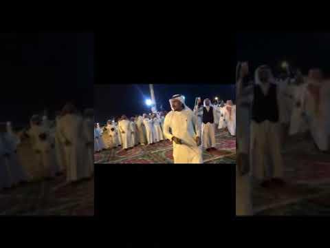 شيلات بلون العرضة في زواج ابن الشيخ العواجي لحن وأداء القرني والثرباني