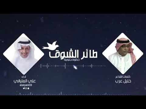 خطوة جنوبية طائر الشوق كلمات الشاعر : خليل عرب أداء : علي العلياني